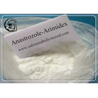 Wholesale Anastrozole Anti Estrogen Steroids for Treatment of Breast Cancer CAS 120511-73-1 from china suppliers