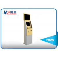 Wholesale Dual Display Bank Atm Machine With Stand Pc , Stand Alone Outdoor Kiosk from china suppliers