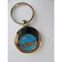 Wholesale caddy coin key chain, trolley coin keychains, One Euro Trolley Coin, Shopping Trolley coin from china suppliers