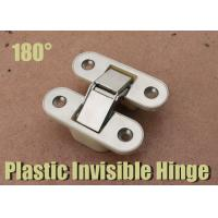 Wholesale 180 Degree Plastic / Zinc Alloy  / Nickle Plated Inset Door Hinges White Nylon Hinge from china suppliers