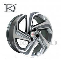Quality Luxurious Machined Aluminum Wheels 5 Spoke Deep Lip Rims Electroplating Finished for sale