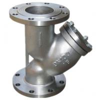 Wholesale Custom Industrial Strainer / Stainless Steel Y Strainer Stable Performance from china suppliers
