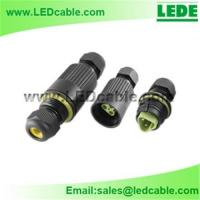 Wholesale IP68 Waterproof In-Line Cable Connector from china suppliers