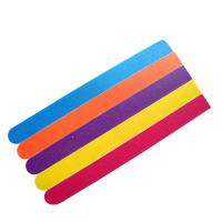 Wholesale 12cm Yellow Emery Board Nail File EVA / Sandpaper With Beautiful Printing Color from china suppliers