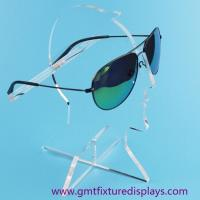 Quality Clear Acrylic Eyeglasses Display Rack Plexiglass Sunglasses Counter Display Stand for sale