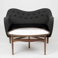 Wholesale repelica modern classic furniture Finn Juhl sofa Model 4600 from china suppliers