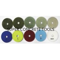 Buy cheap 5 Step Wet Resin Bond Diamond Polishing Discs For Stone Marble Granite Surface Renovation from wholesalers