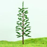 Wholesale HO Train Layout Miniature Model Trees Green Street Wire Tree Pine 11cm from china suppliers