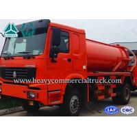 Quality Sewer Cleaning Sewage Suction Trucks With Hydraulic Control System for sale