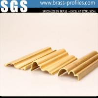 Wholesale Fashion Decorative Extruded Design Brass Stair Handrail Factory from china suppliers