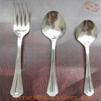 Wholesale South Africa Fashion Low Quality 430 Stainless Steel Cutlery Set from china suppliers