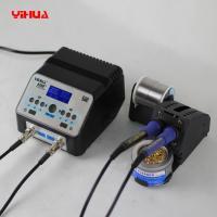 Wholesale YIHUA 938D+ Anti-static Double Soldering Iron Handles Soldering Station With Unique Stand from china suppliers