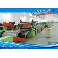 Buy cheap Electric Cut To Length Line Fast Speed Blue Colour With Changeable Width from wholesalers