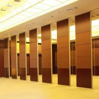 Wholesale Banquet Hall Decorative Acoustic Material System Folding Partitions Walls from china suppliers