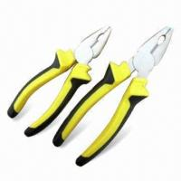 Wholesale European Type Combination Pliers with Polished Finish, Measures 6 and 8 Inches  from china suppliers