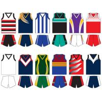 Wholesale V Collar Polyester - Based Material Apparel Afl Sublimated Sportswear For Basketball from china suppliers