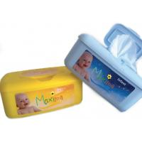 Wholesale Safety Sanitizing Antibacterial Wet Wipes Travel Pack With Aloe Vera / Lanolin Elements from china suppliers