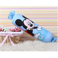 Wholesale Candy Kids Decorative Bolster Pillows / Cotton Long Lumbar Pillow For Home from china suppliers