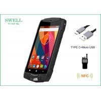 Wholesale Android 5.1 3G 4G LTE IP68 Smartphone 5 Inch Rugged Phone With NFC PTT 1D 2D Scanner from china suppliers