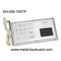 Wholesale CE / ROHS / FCC Rugged Touchpad Keyboard , water proof kiosk keypad with touchpad from china suppliers