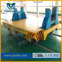 Wholesale Battery powered rail flat transporter of rail transfer cart BXC-16T from china suppliers