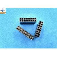 Wholesale LVDS Connector 2.54mm Pitch Dual Rows Power Connectors PBT Material Without Nose from china suppliers