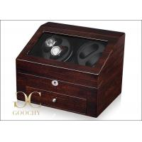 Wholesale Double Watch Battery Powered Watch Winder / 4 Unit Watch Winder 2 Mabuchi Motors from china suppliers
