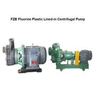 Buy cheap FZB series anti-corrosive Self-Priming Centrifugal Pump from wholesalers