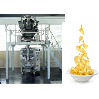 Wholesale Chips /  Snacks / PE Sachet Packing Machine With Back Sealing , CE ISO ROHS from china suppliers