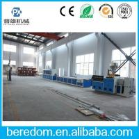 China PVC/PE/PP/WPC Window door/ trunking profile extrusion line on sale