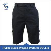 Wholesale Windproof Security Guard Pants Dark Navy Ripstop Short Duty And Daily Life Use from china suppliers