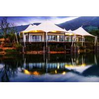 Quality Luxury resort vacation resort canopy Camp tent hotel with lining and floor for sale