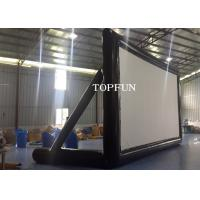 Wholesale PVC Tarpaulin Outdoor Inflatable Movie Screen Project Screen 7 x 4 m from china suppliers