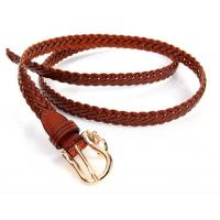 Wholesale Sell jeans pants dress trousers genuine leather strap weaving braiding belts from china suppliers