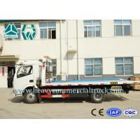 Wholesale Professional Flat Bed Wrecker Tow Truck For Road Block Removal from china suppliers