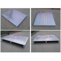 Wholesale heavy duty stackable standard steel pallet , metal pallet for warehouse and logistics from china suppliers