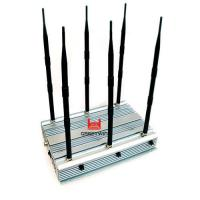 Wholesale 70W 2G 3G 4G WiFi Mini Portable Cellphone Jammer Indoor Using 4 Cooling Fan Inside from china suppliers