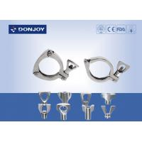 Buy cheap Heavy Duty Clamp DIN10-DN300 With Wing nut , tri clover clamp from wholesalers