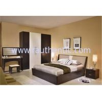 Wholesale Simple MDF Structure Rustic Wood Frame Bed For Mens 1700 * 2180 * 870MM Size from china suppliers