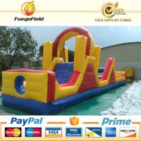 Wholesale Outdoor Huge Obstacle Course Bouncy Castles Inflatable 21.95x4.27x5.19 from china suppliers
