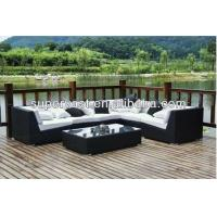 Wholesale All Weather Resin Wicker Patio Sectional Sofa Outdoor Rattan Sofa Set from china suppliers