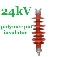 Wholesale IEC 61952 Standard Polymer Pin Insulator 24kV for Overhead Distribution Lines from china suppliers