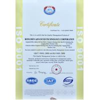 Hongmen Trading Co., Limited. Certifications