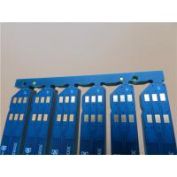 Buy cheap Selective Hard Gold PCB Built On FR-4 0.8mm thick board with Matt Blue Color from wholesalers