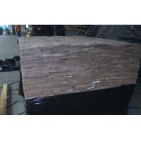 Wholesale Crown Cut Black Walnut Wood Veneer ,  Natural Wooden Veneer  Sheets from china suppliers