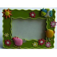 Wholesale New Eco-friendly,non-toxic material Pvc. rubber, silicone products photo frame arts crafts from china suppliers