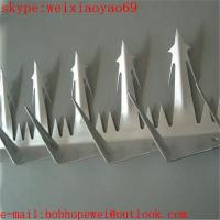 Wholesale wall spikes/fence spikes/anti climb spikes/security spikes/spikes for fences/fence top spikes 100% factory price from china suppliers