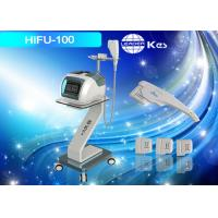 Wholesale Anti - Wrinkle Treatment HIFU Machine Blue Depth 3.0 / 4.5mm HIFU For Face Lifting from china suppliers