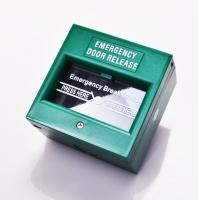 Wholesale DPDT White Break Glass Call Point Emergency Exit Push Button With Changeable Glass from china suppliers