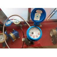 Wholesale AMR Pulse Output Single Jet Water Meter Dry Dial Plastic Brass Body from china suppliers